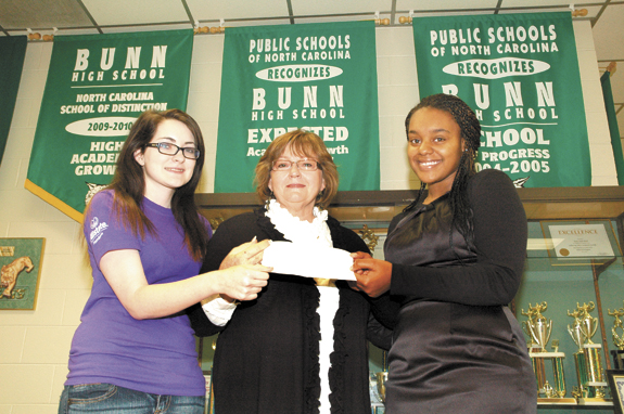 <i>Helping SAVE at Christmas, Bunn students step forward</i>