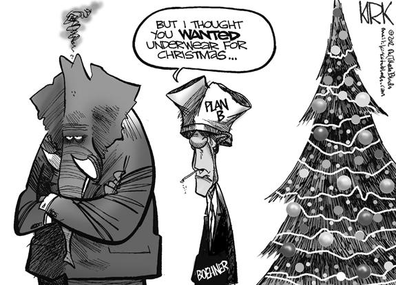 Editorial Cartoon: Plan B