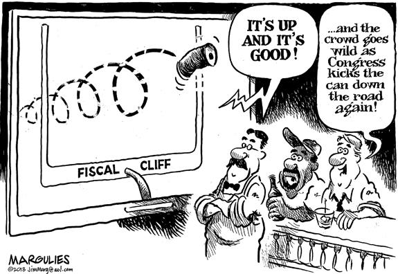 Editorial Cartoon: Kick the Can