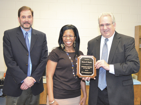 ASSISTANT PRINCIPAL HONORED