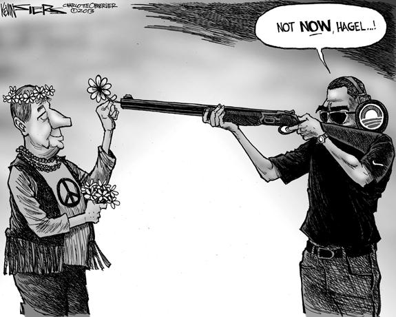 Editorial Cartoon: Not Now