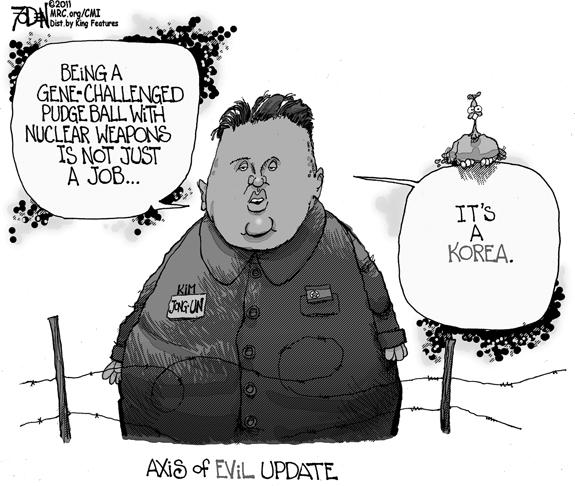 Editorial Cartoon: Axis of Evil