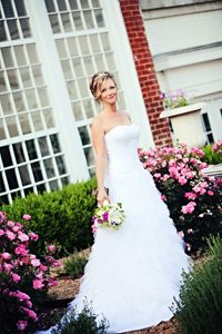 <i>Jennifer Jones, Jason Rogers marry at Meredith College</i>