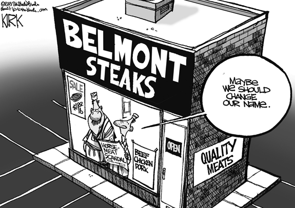 Editorial Cartoon: Steak Out