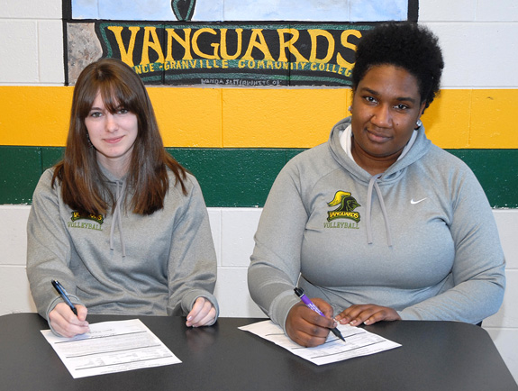 Vanguards add spike signees