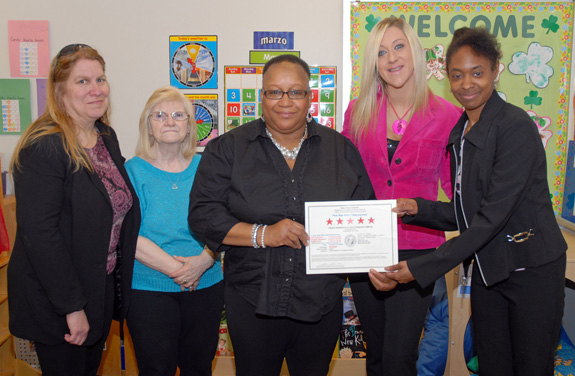 <i>VGCC's child care center lauded</i>