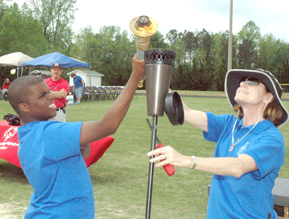 <i>Special Olympics: Tests skills, builds character</i>