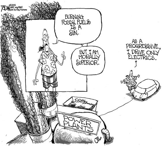 Editorial Cartoon: Electric