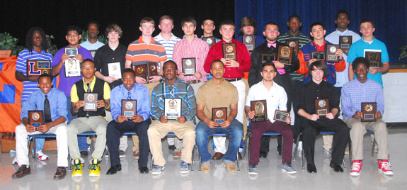 LHS BOYS HONOREES
