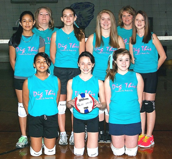 FCPR VOLLEYBALL SQUADS, 1