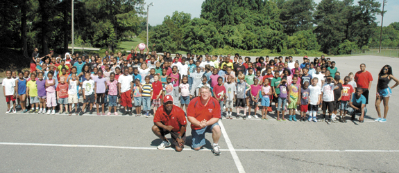 Franklinton summer camp provides hot options for kids