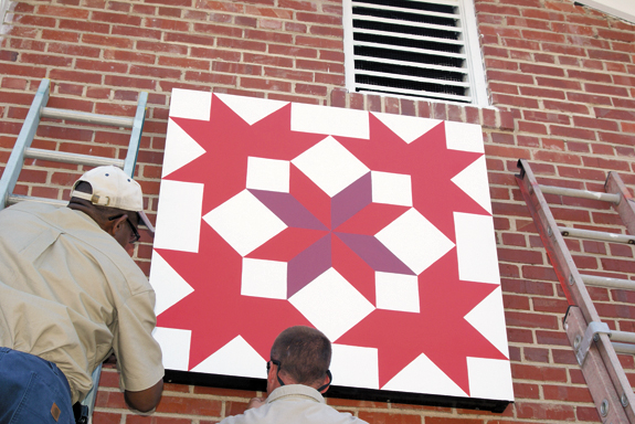 Quilt Trail dedication ceremony is Saturday