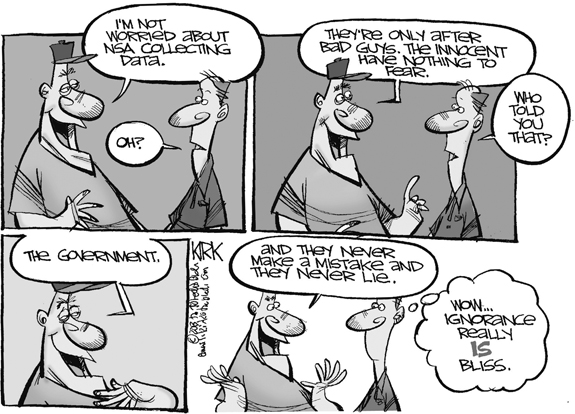 Editorial Cartoon: NSA