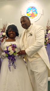 <i>Double-ring ceremony unites local couple</i>