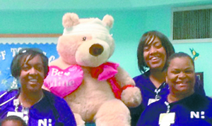 <i>'Teddy' and friends are teaching kids about safety</i>