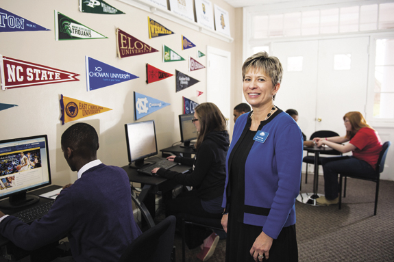 Job shadowing helps LC students think about future