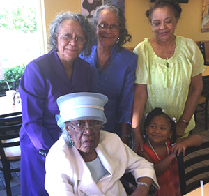 <i>Local woman celebrates 99th birthday!</i>