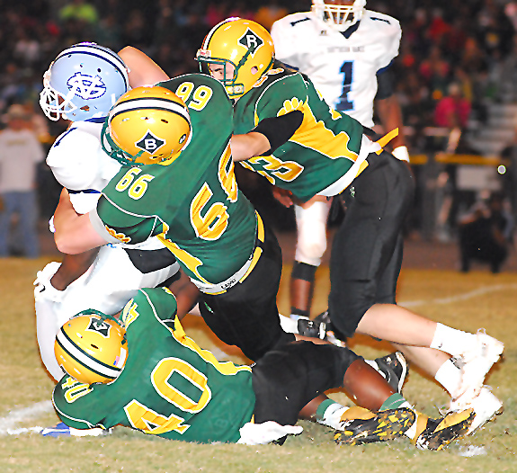 Bunn Runs Past Raiders