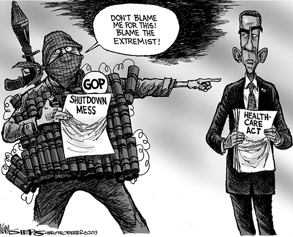 Editorial Cartoon: Extremist