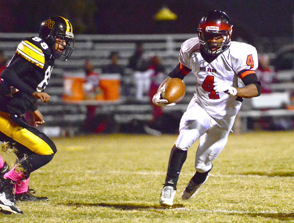 FHS Rallies For Clutch Road Victory
