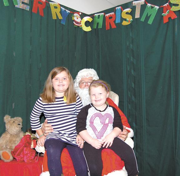 <i>First sighting of Santa ... ready?</i>
