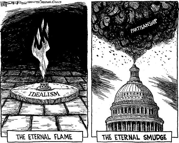 Editorial Cartoon: Smudge