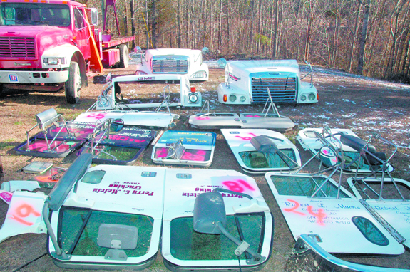 Large 'chop shop operation found; two men arrested