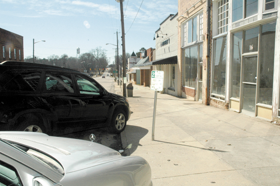 Franklinton backs off strict downtown parking rules