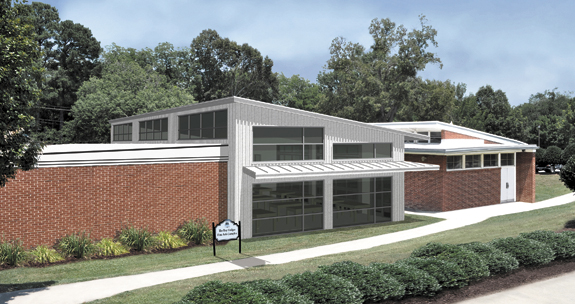 Groundbreaking launches Hodges fine arts complex