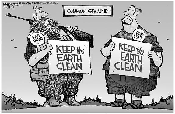 Editorial Cartoon: Common Ground