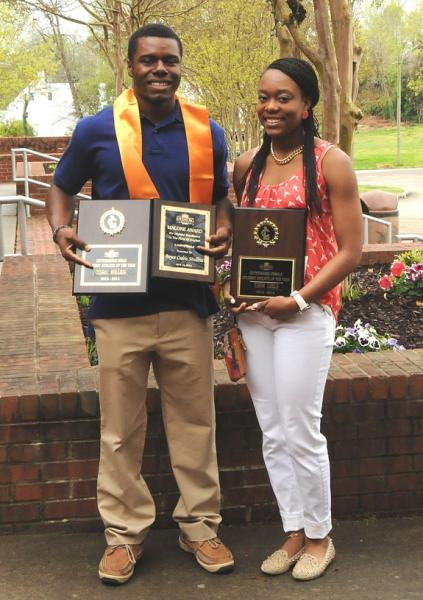 Rawls, Mullins saluted by LC