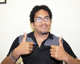 <i>Young man with a plan earns Campbell degree</i>