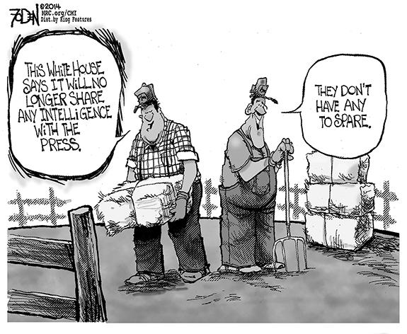 Editorial Cartoon: White House