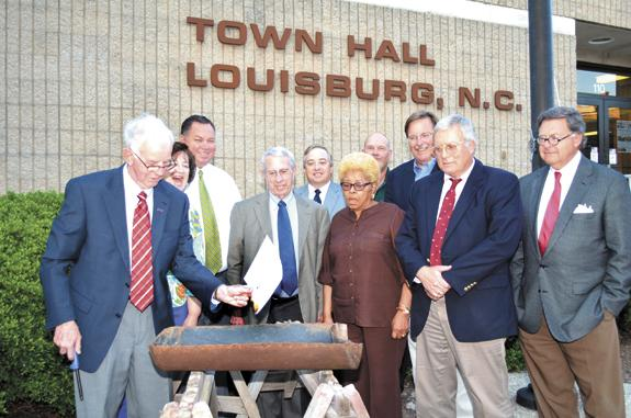 Louisburg retires debt on sewer plant