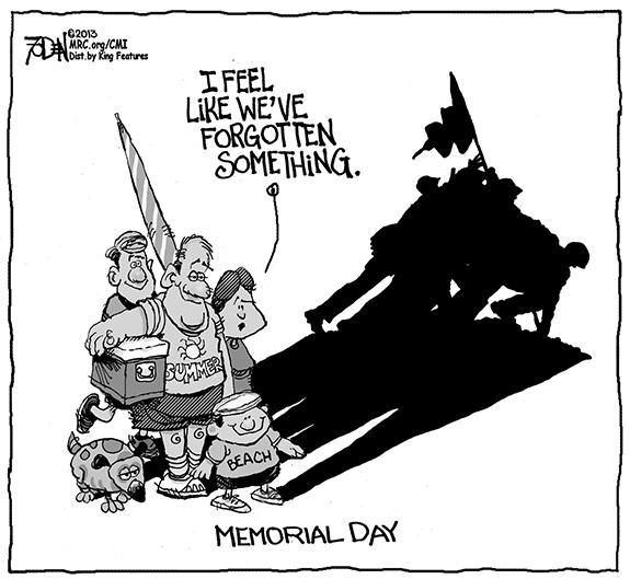 Editorial Cartoon: Memorial Day