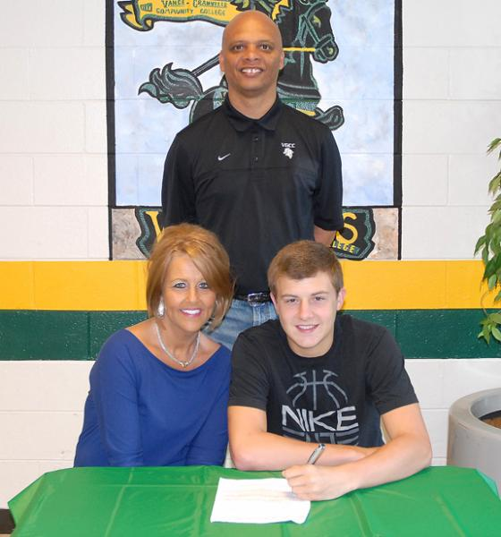 VGCC signs a local standout