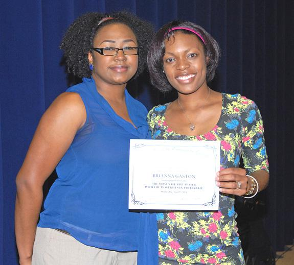 Vance-Granville's athletes honored