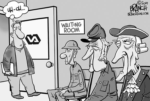 Editorial Cartoon: The VA