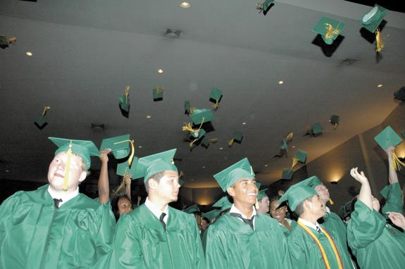<i>Class of '14 urged to soar</i>