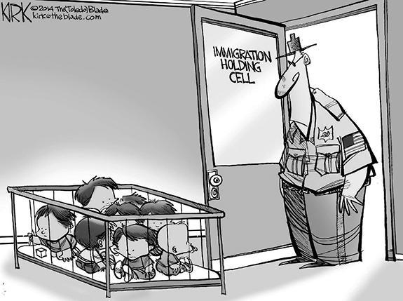 Editorial Cartoon: Immigration