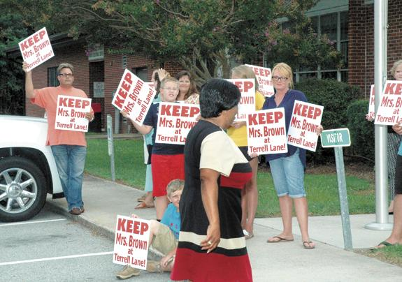 Terrell Lane changes protested