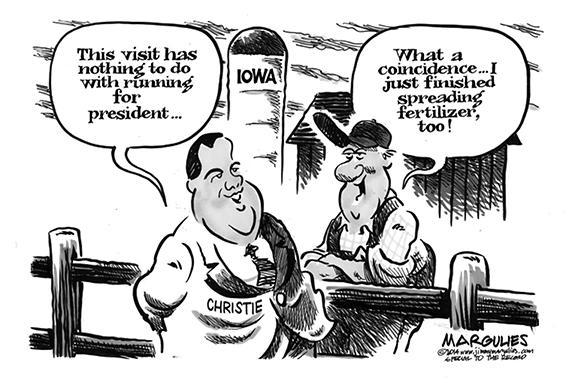 Editorial Cartoon: Fertilizer