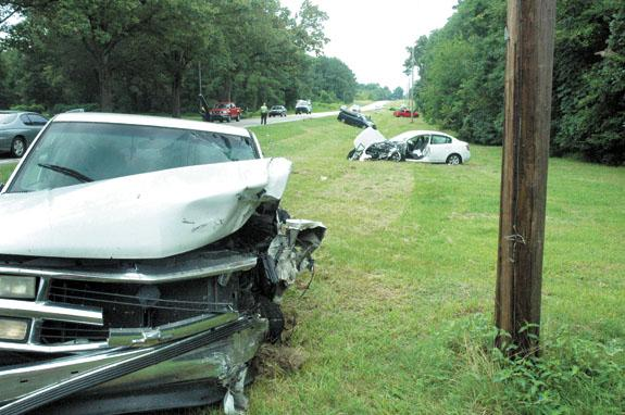U.S. 401 crash injures three; police seeking driver who fled