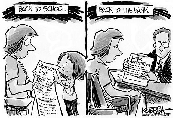 Editorial Cartoon: Back To School