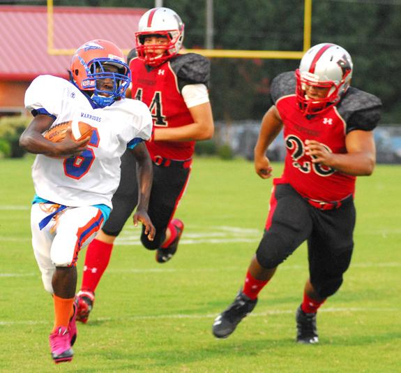 Louisburg Pastes Panthers