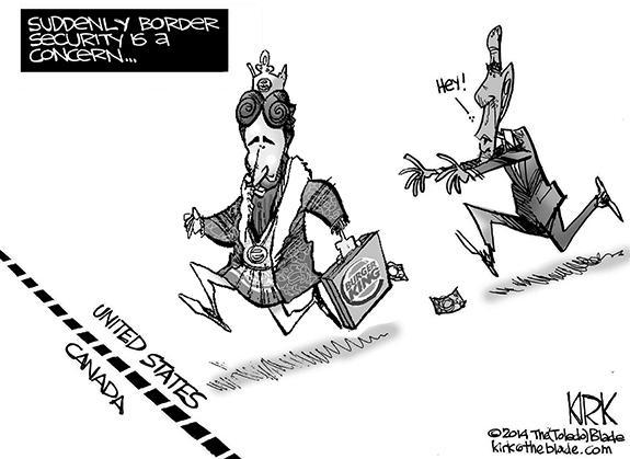 Editorial Cartoon: BK