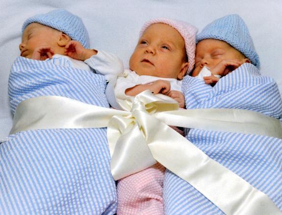 <i>Carter family welcomes triplets</i>