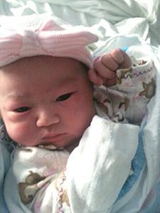 <i>Daughter joins Lee family</i>