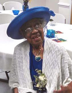 Local woman is honored on 100th birthday