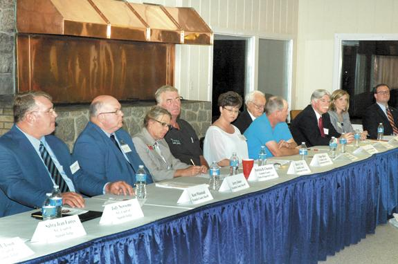 Candidates square off in first public forum